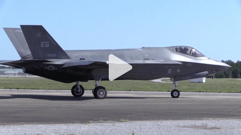 بالفيديو .. اختبار المقاتلة الشبح الجديدة .. 400 مليار دولار لإنتاج 2500 طائرة