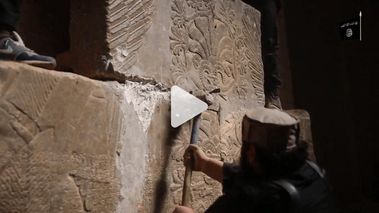شبكة سرية تحاول إنقاذ آثار سوريا والعراق من التهريب
