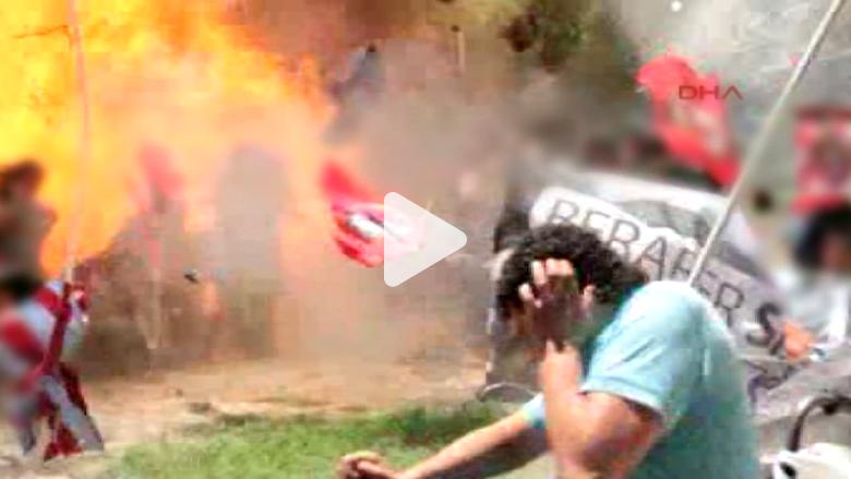 """تركيا تتهم """"داعش"""" بتنفيذ تفجير """"سوروج"""""""