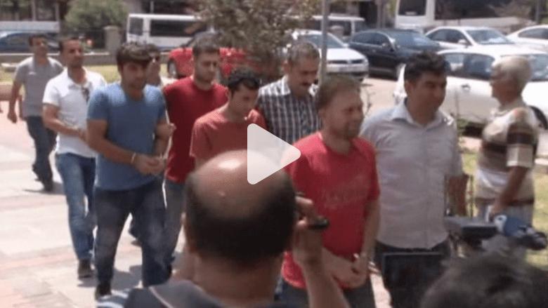 """شاهد.. تركيا تعتقل مئات المشتبه بانتمائهم لـ""""داعش"""" وحزب العمال"""