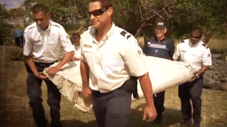 بالفيديو.. هل يحل هذا الحطام لغز الطائرة الماليزية المفقودة؟