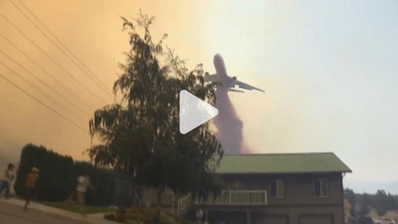 بالفيديو..حريق هائل يلتهم الأخضر واليابس في واشنطن