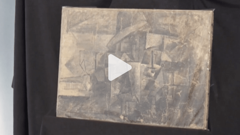بالفيديو.. العثور على لوحة لبيكاسو بعد 14 عاماً من سرقتها