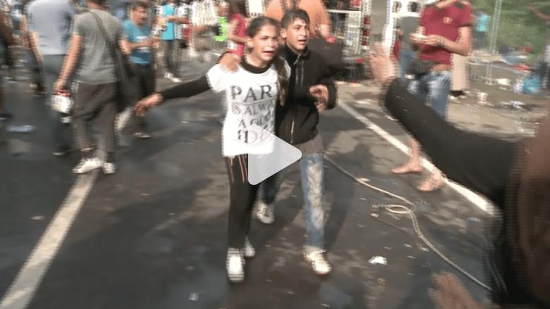 بالفيديو.. كاميرا CNN ترصد لحظات ألم عاشها السوريون خلال رحلتهم نحو أوروبا