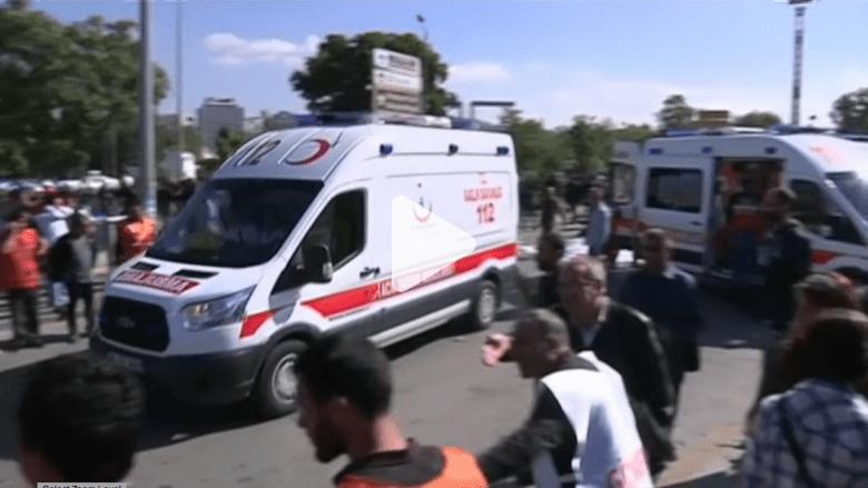 بالفيديو: اللحظات الأولى بعد الانفجار الذي هز العاصمة التركية أنقرة