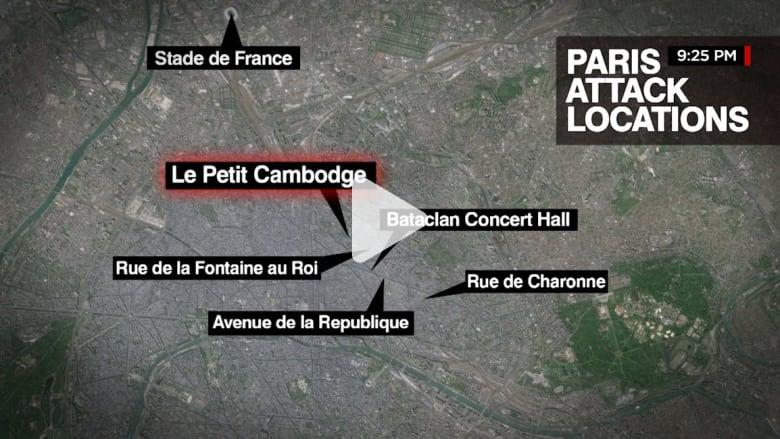 بالفيديو.. هجمات باريس حسب التسلسل الزمني منذ البداية وحتى النهاية