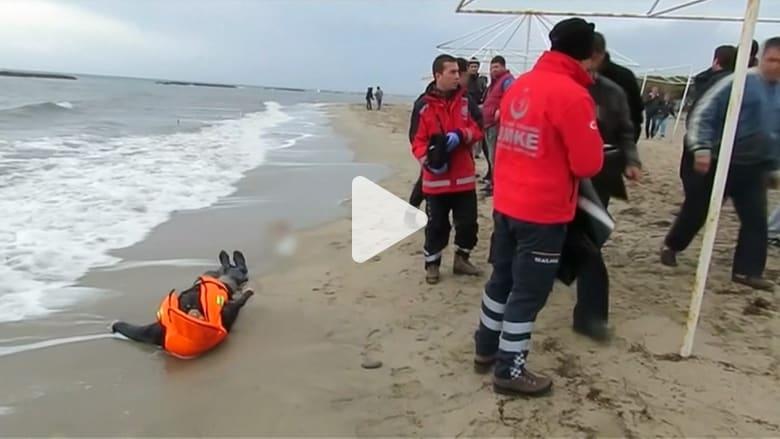 بالفيديو: أكثر من مليون مهاجر لأوروبا.. وعدد الوفيات 3771 شخصاً