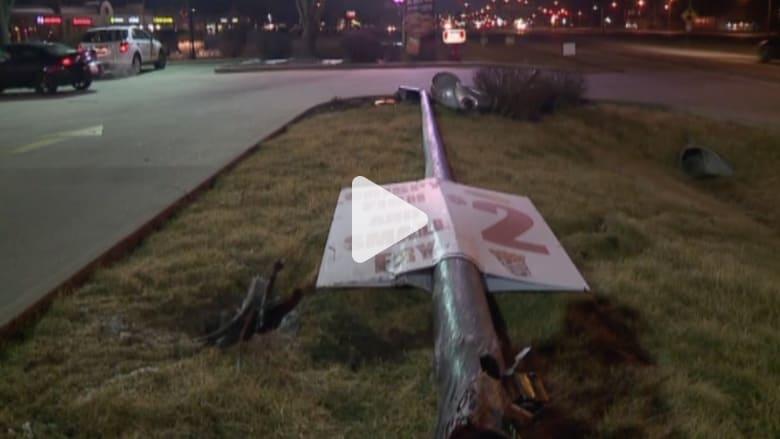 بالفيديو: سائقة تتسبب بعدة حوادث في وقت واحد بولاية أمريكية