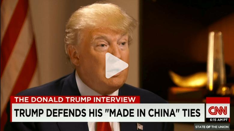 بعد استياء ترامب من توظيف المهاجرين ماذا يقول عن ربطات عنقه الصينية؟