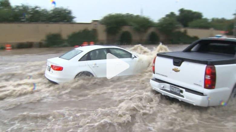 عد أدراجك.. لا تغرق! ما هي كمية المياه التي ستكون كفيلة بجرف سيارتك عند هطول أمطار كثيفة؟