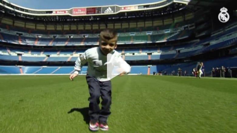 بالفيديو: الطفل الفلسطيني أحمد الدوابشة من كابوس الحريق إلى حلم ريال مدريد
