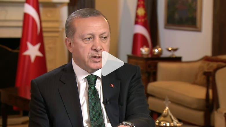 أردوغان لـCNN: كثير من الدول الأوروبية فشلت في الاهتمام بدعوتنا للاتحاد ضد الإرهاب