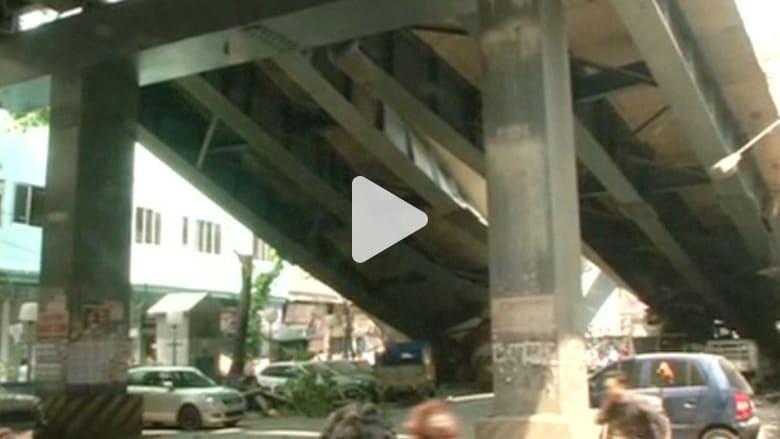 الشرطة الهندية: 14 قتيلا على الأقل وأكثر من 100 مفقود بعد سقوط جسر في كولكاتا