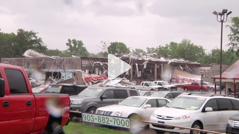 بالفيديو: غرق جدة وأربعة أحفاد في فيضانات بولاية تكساس