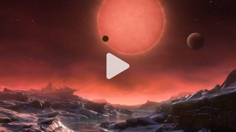 شاهد.. علماء يكتشفون 3 كواكب مشابهة للأرض قد تكون داعمة للحياة