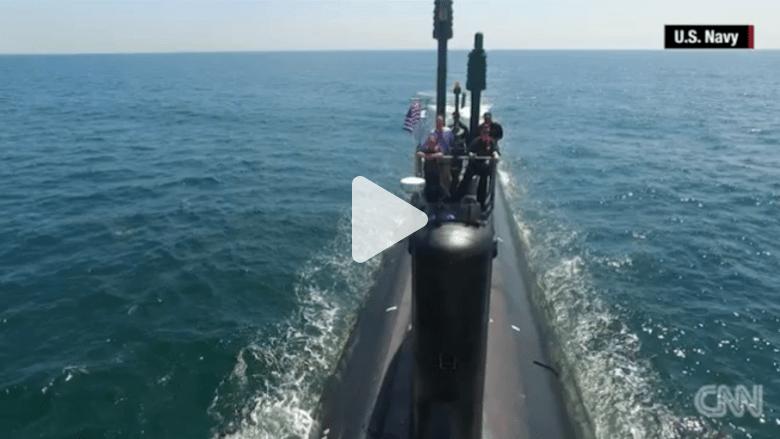 بالفيديو: عدسة CNN في جولة داخل غواصة نووية أمريكية