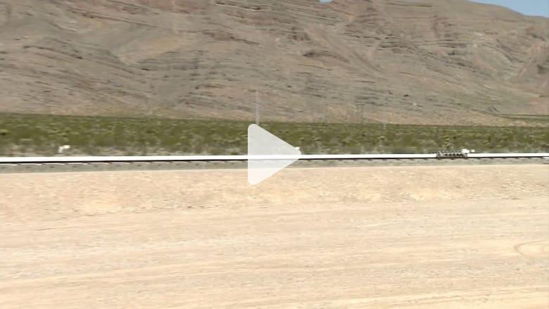 """بالفيديو: لحظة انطلاق كبسولة """"هايبرلوب"""" الفائقة السرعة.. قريباً لنقل البشر"""