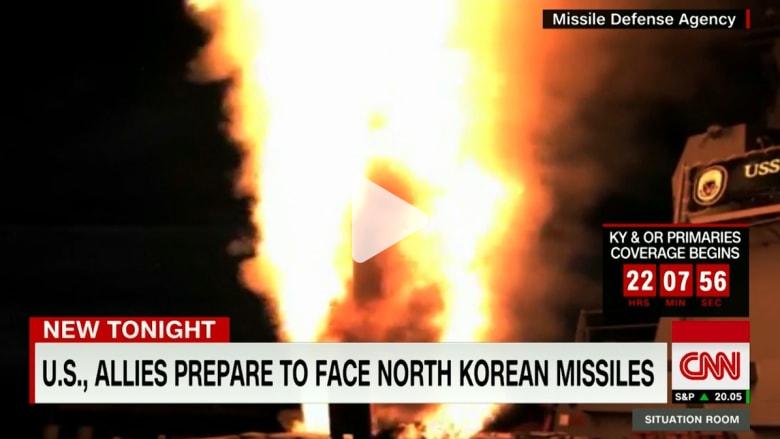 الولايات المتحدة وحلفاؤها يستعدون لمواجهة صواريخ كوريا الشمالية