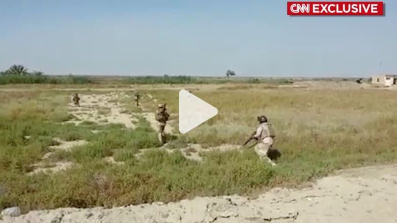 فيديو حصري لـ CNN عن بدء عمليات القوات العراقية لاستعادة الفلوجة من داعش