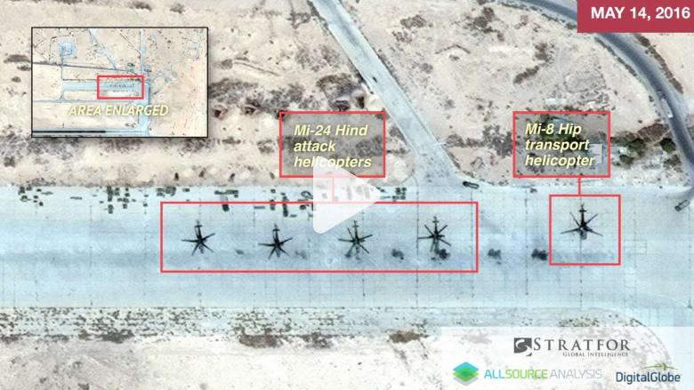 شاهد صور الأقمار الصناعية قبل وبعد.. هل دمر داعش قاعدة جوية روسية في سوريا؟