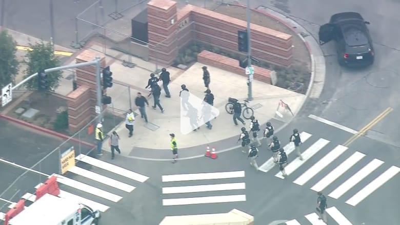 بالفيديو: مقتل شخصين في إطلاق نار بجامعة كاليفورنيا