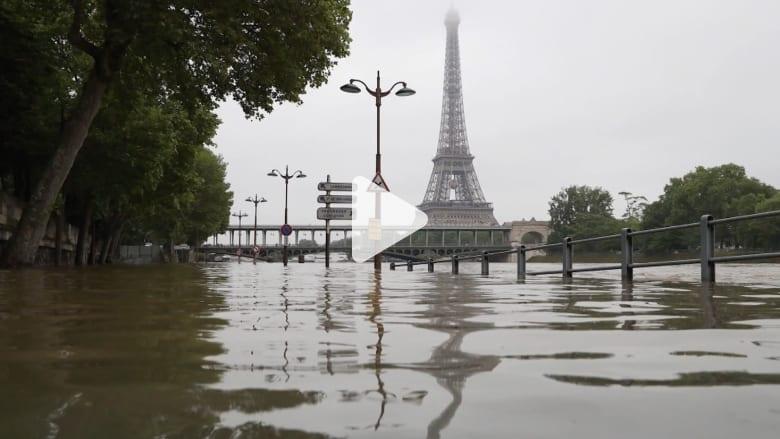 الفيضانات تتسبب بفوضى عارمة في فرنسا وألمانيا.. مقتل 10 وإخلاء الآلاف
