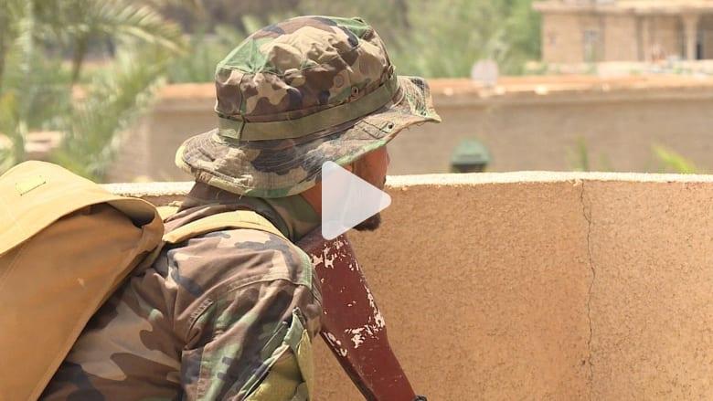 بالفيديو: عدسة CNN ترصد استعداد القوات العراقية للمعركة النهائية ضد داعش في الفلوجة