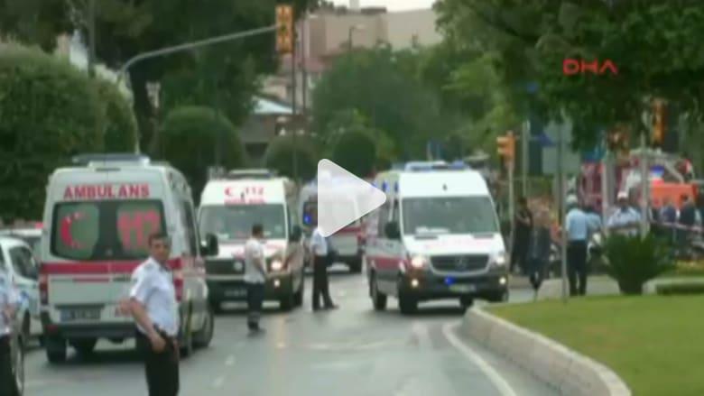 بالفيديو: شاهد أول لحظات بعد الانفجار في مدينة إسطنبول التركية