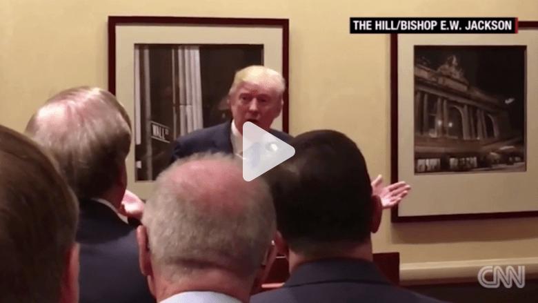 """بالفيديو: دونالد ترامب ينتقد """"إيمان"""" هيلاري كلينتون بالدين.. وحملتها تؤكد تدينها"""