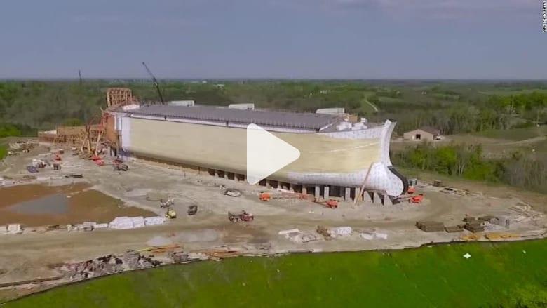 """مشروع """"ترفيهي- ديني"""" يعتمد على بناء سفينة نوح بحجمها الأصلي"""