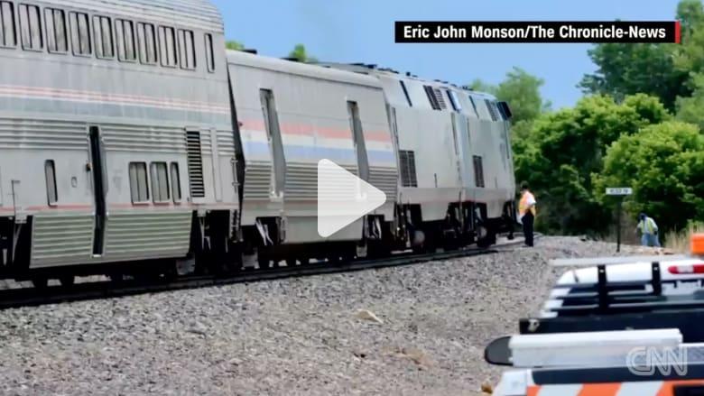 بالفيديو: قطار يصطدم بسيارة ويقتل 5 من عائلة واحدة في أمريكا