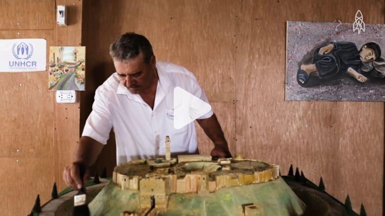 عندما تعود الآثار السورية الزائلة إلى الحياة.. بالفن