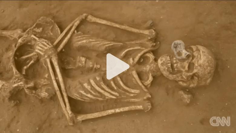 بالفيديو: اكتشاف أول مقبرة فلستية