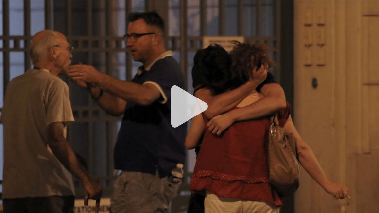 بالفيديو: شاهد بهجوم نيس يتحدث لـCNN عن الذعر الذي حدث ساعة الحدث