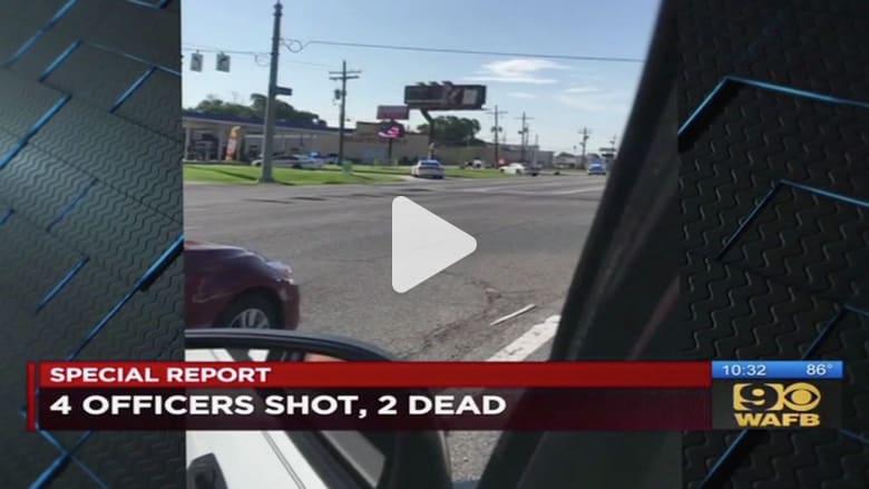 بالفيديو: مقتل 3 من عناصر الشرطة الأمريكية إثر إطلاق نار في لويزيانا