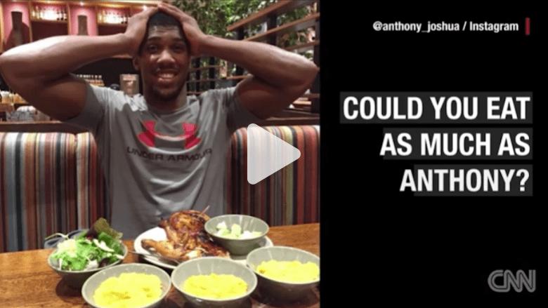 ماذا يأكل أبطال الملاكمة؟