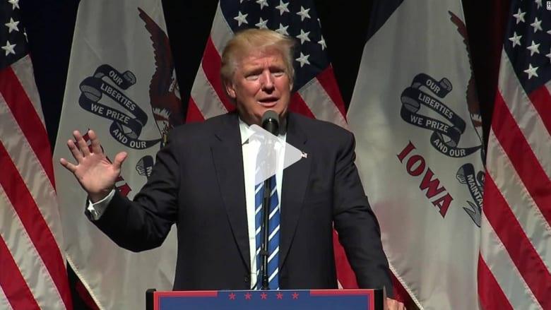 """ترامب يريد ضرب متحدثين """"حطوا من قدره"""" بمؤتمر الديمقراطيين"""