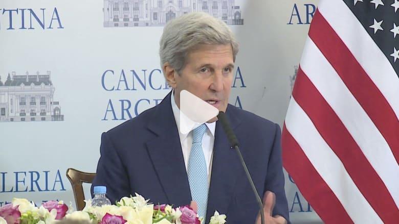 كيري عن تحويل 400 مليون دولار لإيران: أمريكا لا تدفع فدية