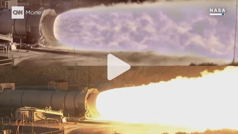 شاهد اختبارات صواريخ ناسا بدقة لم ترها من قبل!