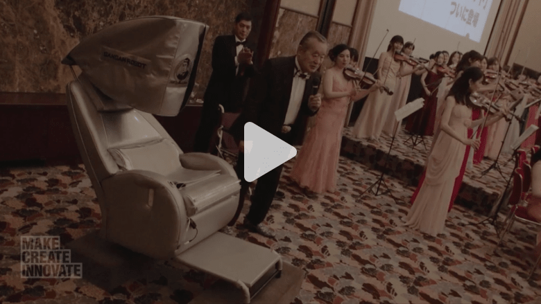 شاهدوا الاختراع الذي صنعه هذا العبقري الياباني لمداواة نفسه من السرطان