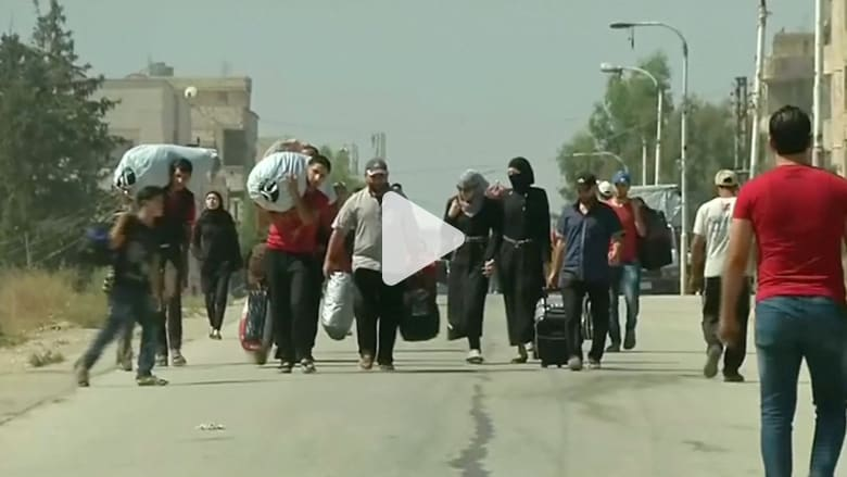 النظام السوري يسمح بإجلاء أهالي داريا المحاصرين في معضمية الشام