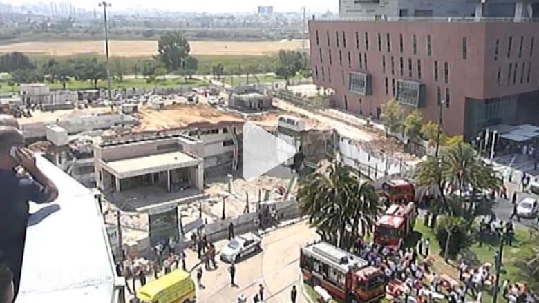 مقتل شخص وفقدان آخرين بعد انهيار مبنى في تل أبيب