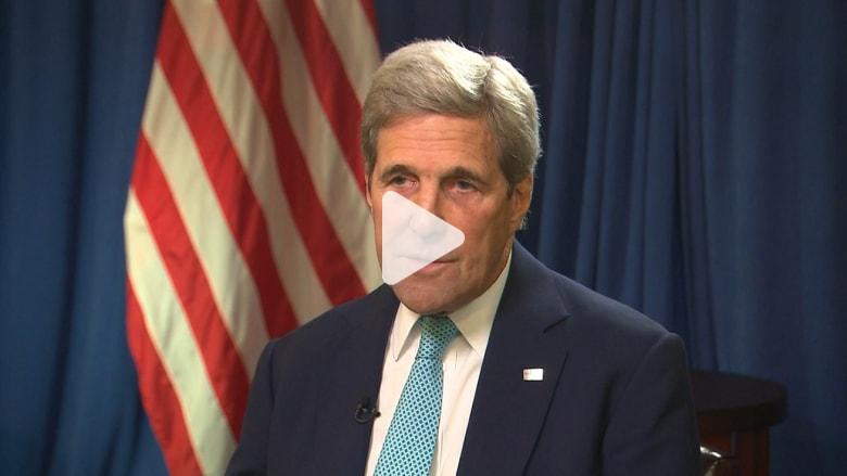 بمقابلة حصرية.. كيري: يجب على روسيا منع صديقها الأسد من قصف شعبه