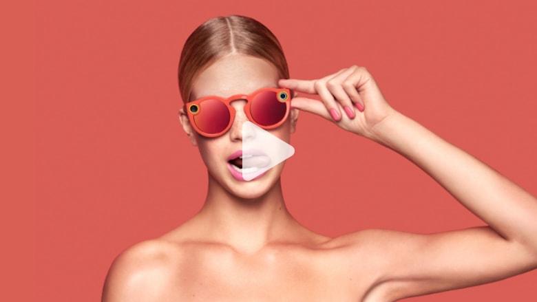 """""""سناب شات"""" تعلن عن أول منتجاتها.. نظارة تلتقط الفيديو!"""