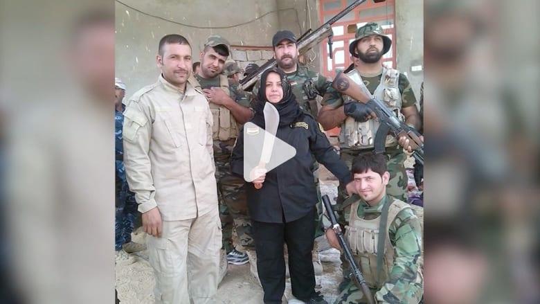 """أم هنادي.. ربة منزل عراقية """"تقطع وتطبخ"""" رؤوس """"الدواعش"""""""