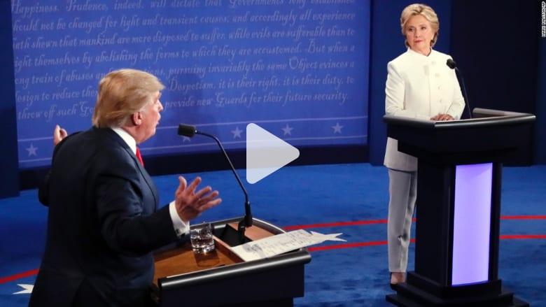 مناظرة رئاسية أمريكية حادة.. إليك ما حدث في 90 ثانية