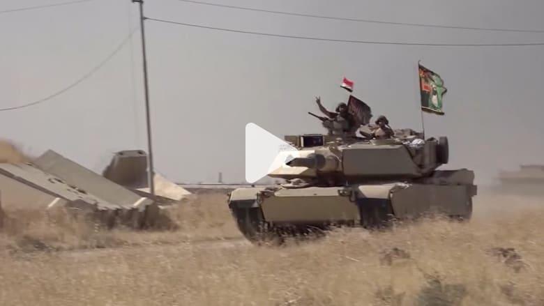 شاهد.. القوات العراقية في برطلة بعد تحريرها من داعش