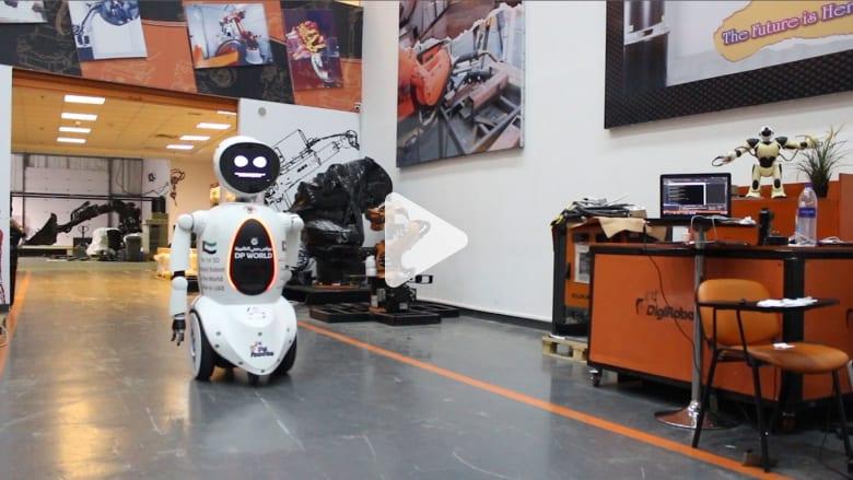 """شاهدوا أول روبوت بالطباعة ثلاثية الأبعاد.. والصناعة إماراتية """"بالكامل"""""""