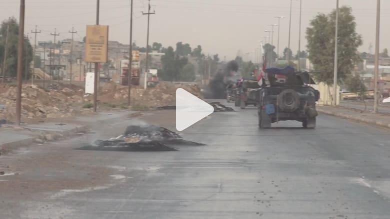 كاميرا CNN توثق معارك الجيش العراقي ضد داعش شرق الموصل