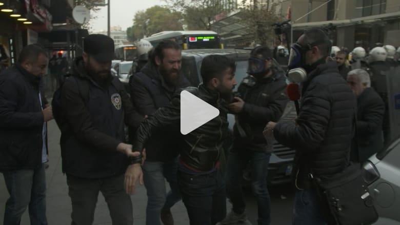 مواجهات بين الشرطة التركية ومتظاهرين أكراد في إسطنبول